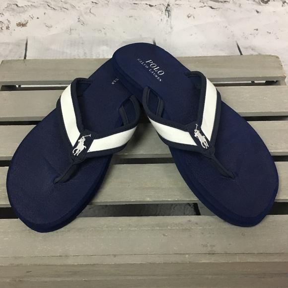 d1c07afa58e14 ... new zealand polo ralph lauren almer ii mens flip flop sandals 823ba  66100